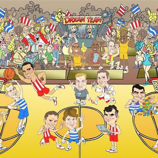 Caricaturas feitas para Del Valle