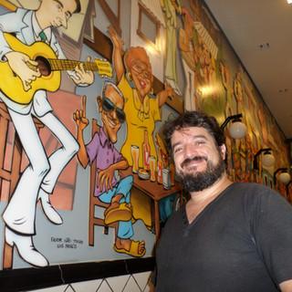 Painel Quintal da Tia Acácia