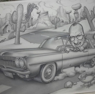 Quadro Oldsmobile