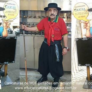 Gaúcho dupla-face