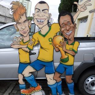 Neymar, Ronaldo e Pelé