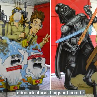 Caça-Fantasmas e Star Wars