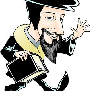 Caricatura de João Calvino
