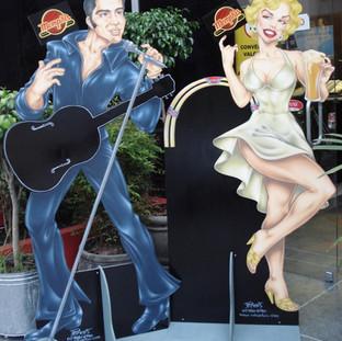Elvis e Marilyn