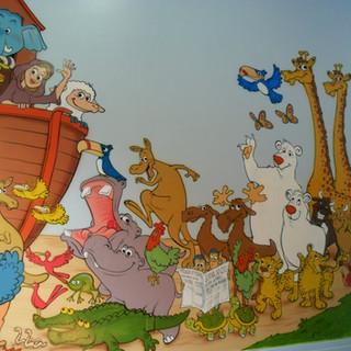 Painel Arca de Noé
