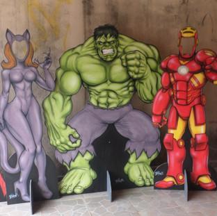 Kit Super-Heróis