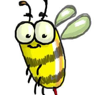 Personagem abelha