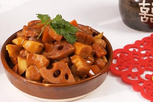 盆滿砵滿(南乳蓮藕燜豬肉)