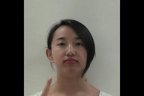 口腔復康鍛煉(5) 舌頭運動幅度練習