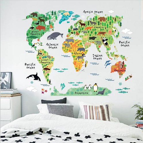 World Decal Map