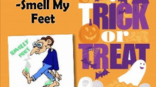 EMBARRASSING FOOT ODOR ?