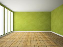 bigstock-Empty-room-in-green-colour-D--74222968