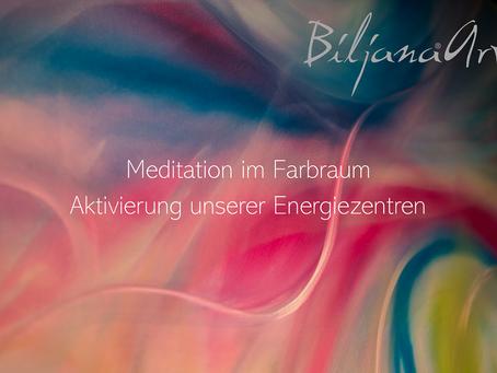 Meditation im Farb-Raum LIVE AUF YOUTUBE- Am 28.03.20 um 19.30 Uhr