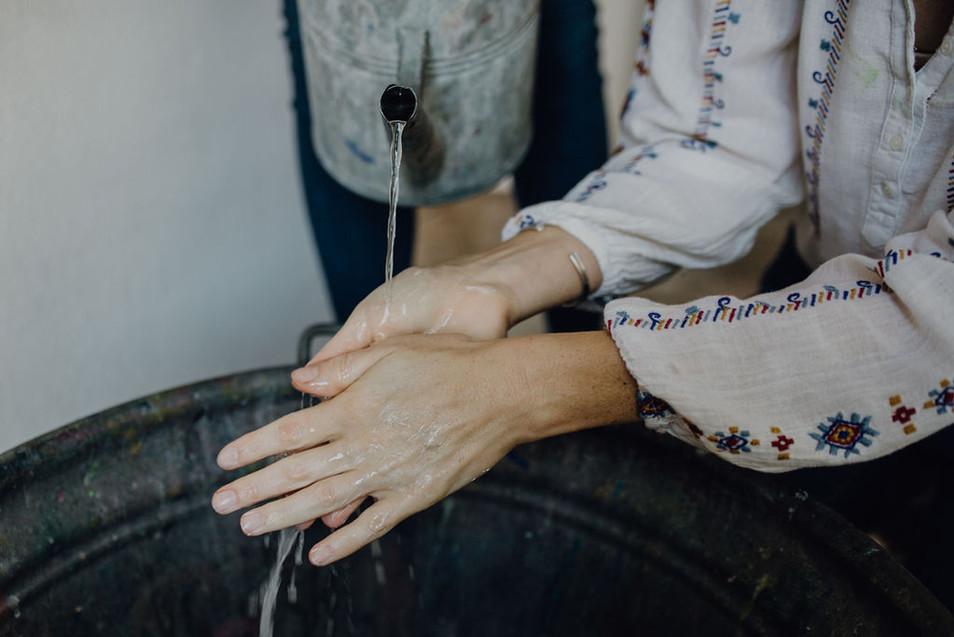 Händewaschritual