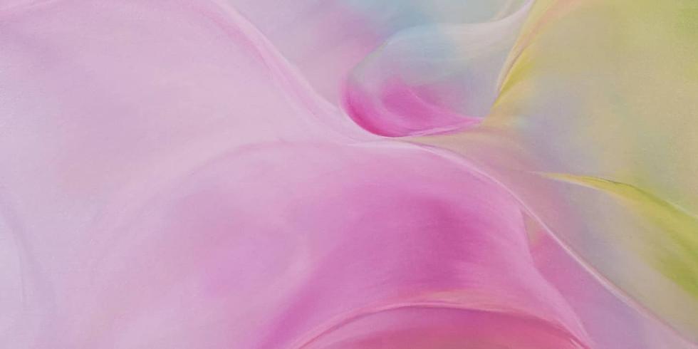 Pink - Wohlwollen - Malen mit allen Sinnen