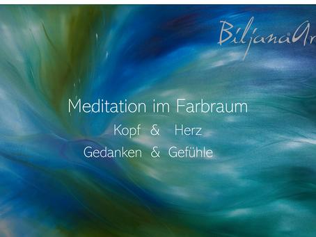 Live aus der Galerie am 04.04.20 - Meditation - Kopf & Herz - Gedanken & Gefühle