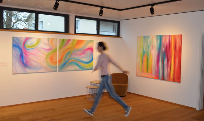 Galerie-Ich in Bewegung