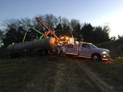 Barrel rolled tanker