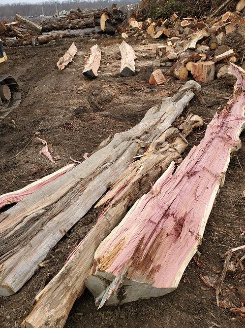 Semi-Seasoned Hardwood