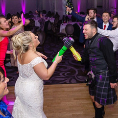 evening wedding reception devotion weddi