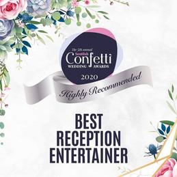 scottish confetti wedding award 2020 hig
