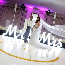 large mr mrs light up letters fenwick br