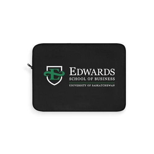 Edwards School of Business Laptop Sleeve in Black