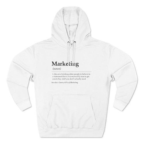 Marketing Unisex Pullover Hoodie