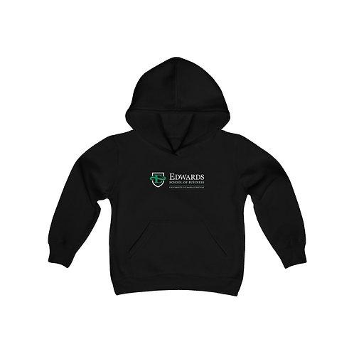 Edwards School of Business Unisex Youth Hooded Sweatshirt