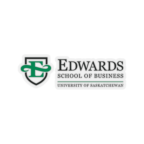 Edwards School of Business Decal Stickers
