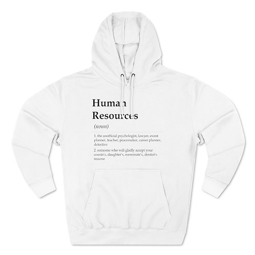 Human Resources Unisex Pullover Hoodie