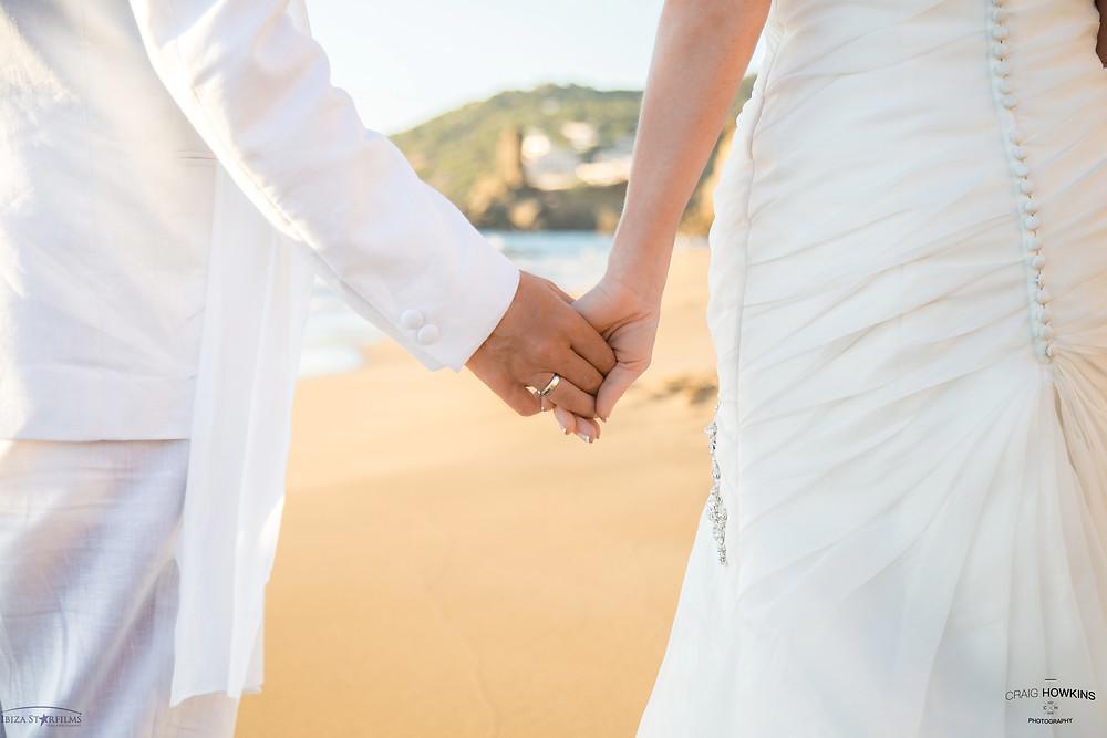 Post-Wedding Shoot beach Ibiza Craig Howkins Photography St Ives Cambridgeshire Northamptonshire wedding photographer