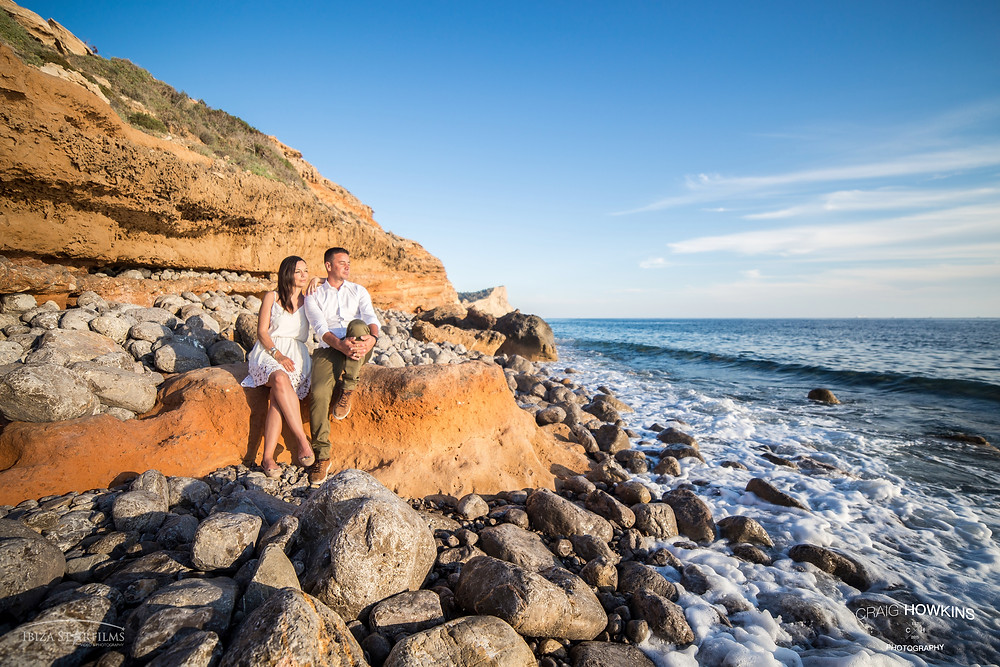 Pre-wedding shoot Ibiza Craig Howkins Photography St. Ives Cambridgeshire Northamptonshire wedding photographer