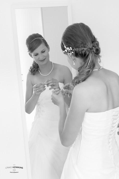 Craig Howkins Photography wedding photographer St Ives Cambridge Cambridgeshire Northampton  Northamptonshire bridal preparation bride
