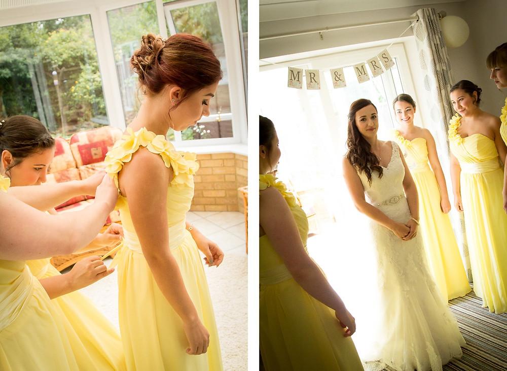 Craig Howkins Photography | wedding photographer St. Ives Cambridgeshire Northamptonshire | bridal prep