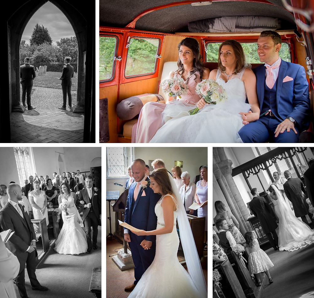 Wedding at the Old Ferry Boat Inn | Craig Howkins Photography | Ceremony at the Holy Cross Parish Church Bury