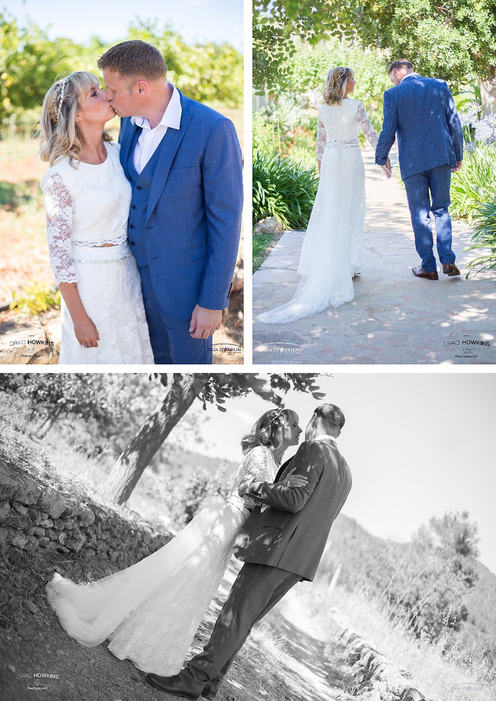 Can Gall Ibiza wedding couple shoot Craig Howkins Photography  photographer Cambridgeshire Northamptonshire