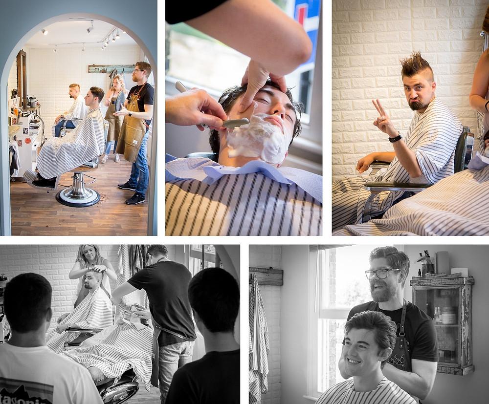 Craig Howkins Photography | wedding photographer St. Ives Cambridgeshire Northamptonshire | Prep Groom Best Men | David William Barber