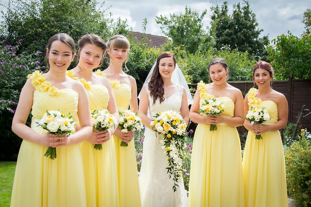 Craig Howkins Photography | wedding photographer St. Ives Cambridgeshire Northamptonshire | Bride and Bridesmaids
