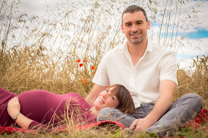 The baby bump shoot with Gemma and Dave and Rosie's Christening