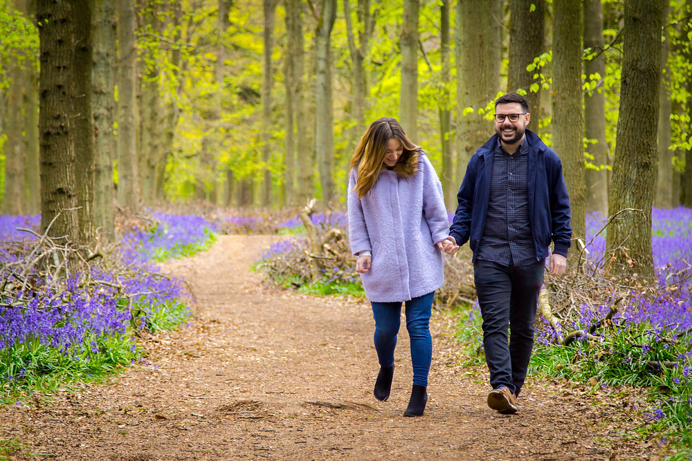 Pre-wedding shoot Dockey Wood Craig Howkins Photography wedding photographer St. Ives Cambridge Cambridgeshire Northamptonshire