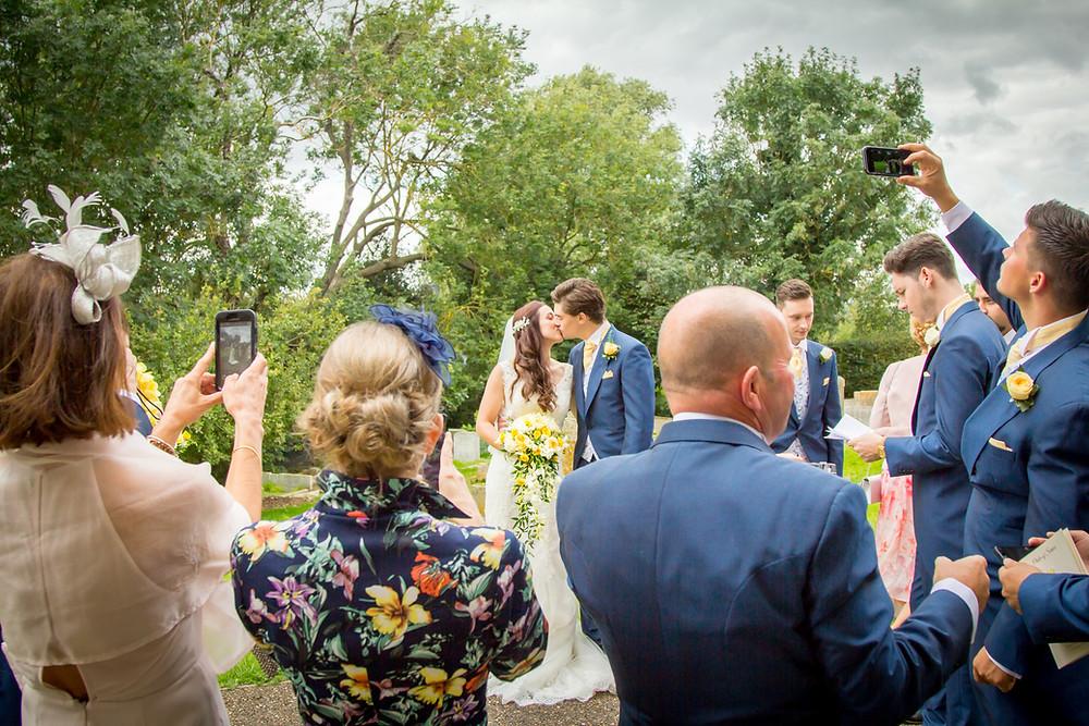 St John the Baptist church Holywell | Craig Howkins Photography | wedding photographer St. Ives Cambridgeshire Northamptonshire