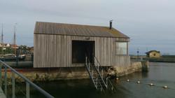 Sauna ved Hasle Havnebad