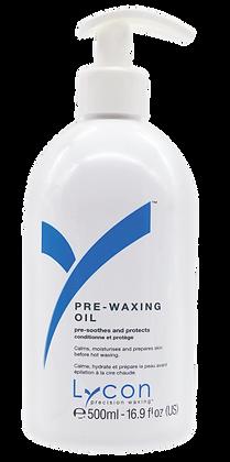 PRE-WAXING OIL