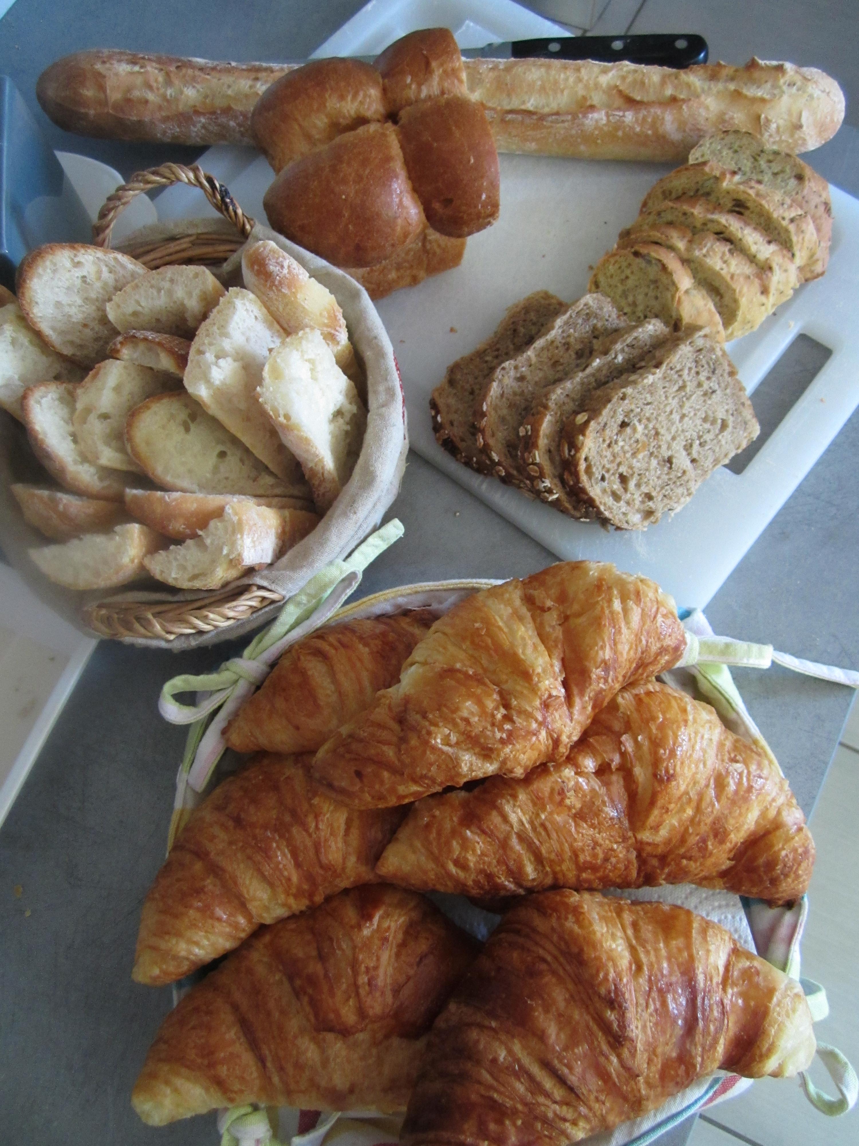 pains et croissants