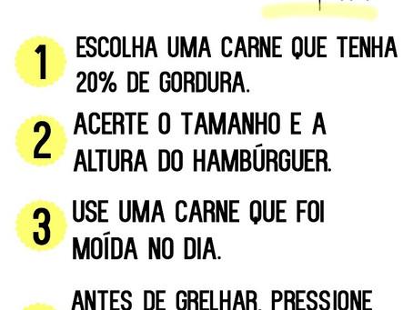 """#CozinheComigo: Como fazer """"O"""" Hambúrguer"""