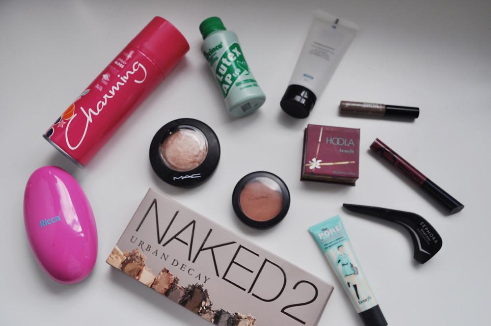Maquiagens e Produtos - Preferidos do Momentos - Duda Nascimento