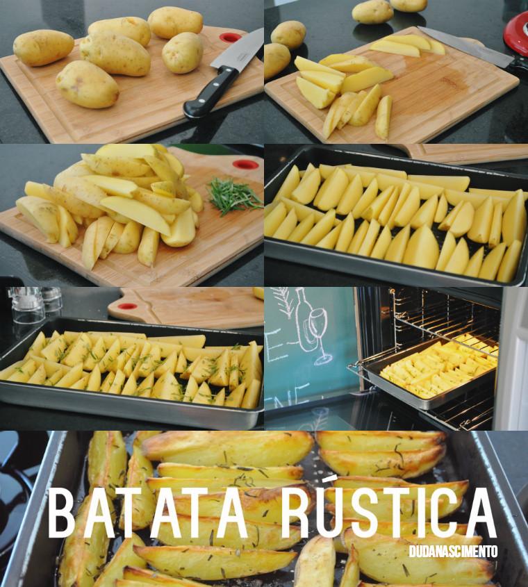 #CozinheComigo: Batata Rústica - Duda Nascimento