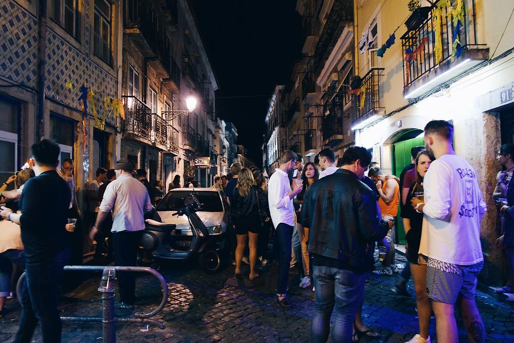 Bairro Alto - Lisboa, Portugal (Duda Nascimento)
