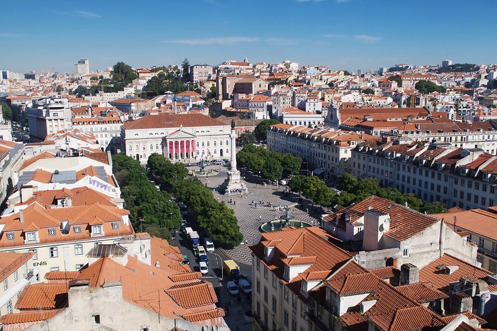 Praça D. Pedro IV - Lisboa (Duda Nascimento)